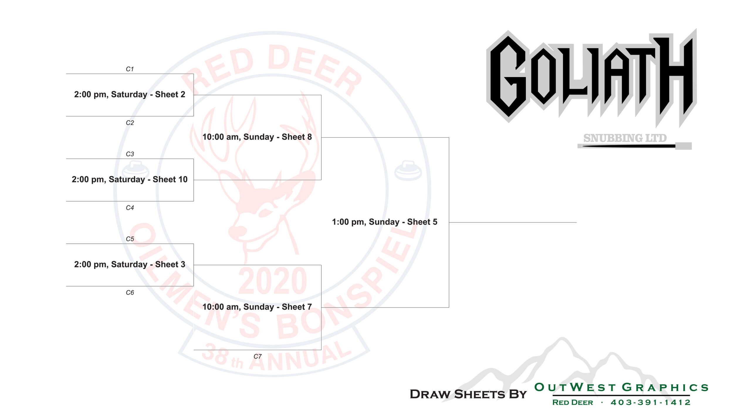 Red Deer Oilmen's Curling Bonspiel 2020 - Red Deer, Alberta